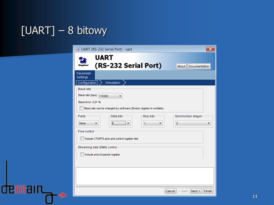 [UART] – 8 bitowy